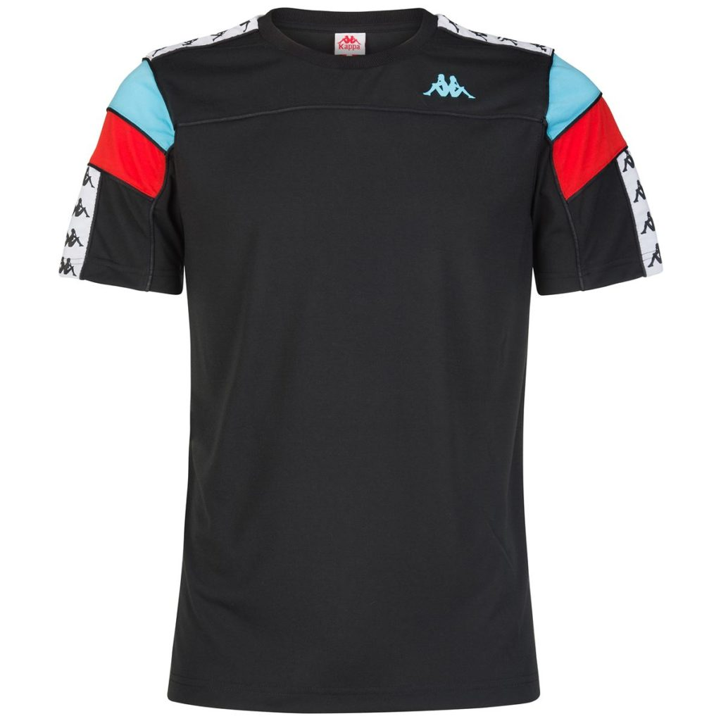 Black / White / Turquoise / Red